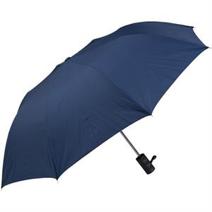 "Navy - Personal Pop-up Umbrella, 42"", Folds To 14"""