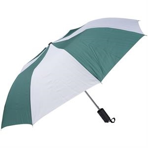 "Pine-white - Personal Pop-up Umbrella, 42"", Folds To 14"""