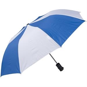 "Royal-white - Personal Pop-up Umbrella, 42"", Folds To 14"""