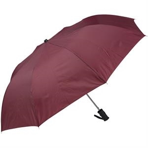 "Wine - Personal Pop-up Umbrella, 42"", Folds To 14"""