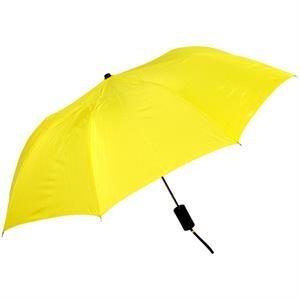 "Yellow - Personal Pop-up Umbrella, 42"", Folds To 14"""