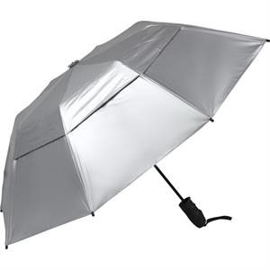 "Urbanite (tm) - Automatic Open 44"" Silver Uv Reflective Umbrella"