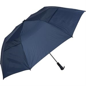 The Professional 345 (tm) - Navy - Folding Golf Umbrella, Folds To 22""