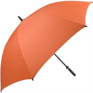 Pro-line (tm) - Orange - Single Canopy Golf Umbrella With Black Braided Fiberglass Shaft, 62""