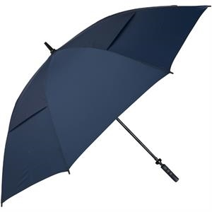 "Hurricane 345 (r) Tour Plus - Navy - Golf Umbrella With A 62"" Arc And Wind-vents"
