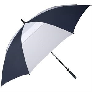 "Hurricane 345 (r) Tour Plus - Navy-white - Golf Umbrella With A 62"" Arc And Wind-vents"