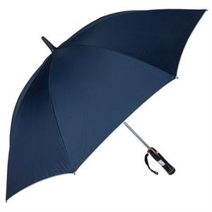 "Breeze (r) - Navy - 60"" Golf Umbrella With Internal Plastic Fan"