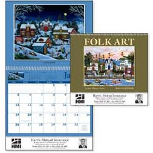 Folk Art - The Colorful Art Of Jane Wooster Scott Featured On This 2015 Calendar