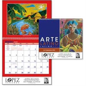 Latino Art - A Variety Of Artists Depict Latin American Cultures In This Colorful 2015 Calendar