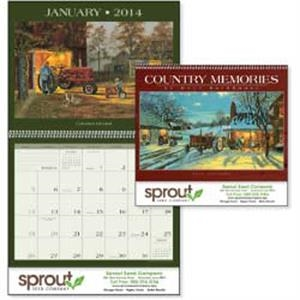 Country Memories - Dave Barnhouse Recreates Small Town Life In This 2015 Calendar