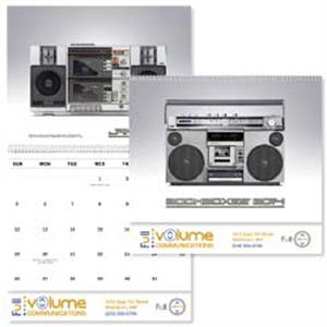 Boom Boxes - 2015 Appointment Calendar With Amusing Tidbits About A Music Relic