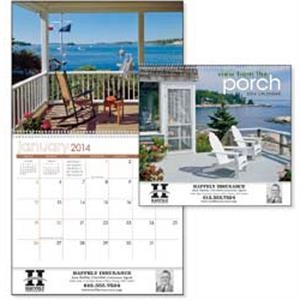 View From The Porch - 2015 Calendar With Peaceful Views And The Surrounding Countryside