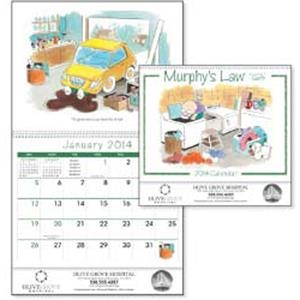 Murphy's Law - 2015 Calendar With Cartoon Art Portraying Murphy's Law Moments