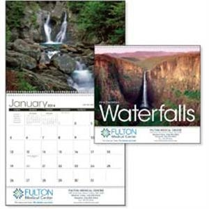 Breathtaking Scenic Waterfalls From Around The World Grace This 2015 Calendar