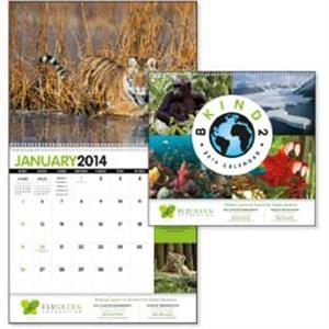 B Kind 2 Earth Goingreen (r) - Encourage Environmental Awareness With This Eco-friendly 2015 Calendar