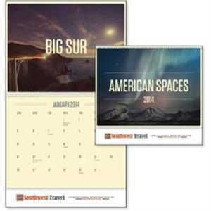 American Spaces - 2015 Calendar With A Unique Twist On The Many Scenes Across America