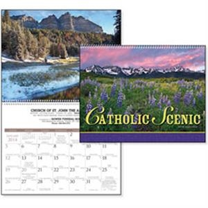 Catholic Scenic - 2015 Calendar With Striking Nature Photography And An Appropriate Bible Verse