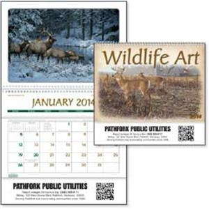 Wildlife Art - 2015 Pocket Calendar Featuring Outstanding Artwork From Top Wildlife Artists