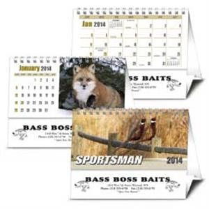 Sportsman (r) - 2015 Desk Calendar For Hunters And Wildlife Enthusiasts