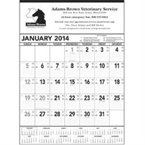 Black And White, 2015 Contractor Memo Calendar