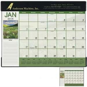 Desk Pad 2015 Calendar With Suedene Vinyl Header