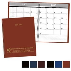 2014-2015 Academic Monthly Planner With Large Daily Memo Blocks