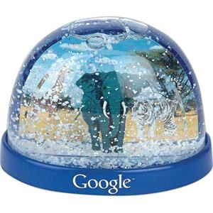 Zoo - Plastic Snow Globes. Imprinted