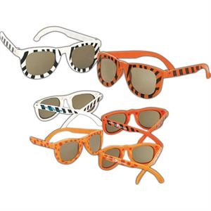Children's Safari Animal Print Sunglasses. Imprinted