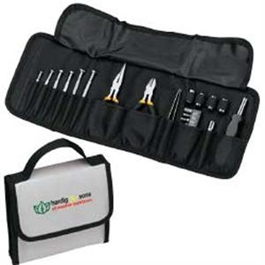 Large 25 Piece Folding Tool Set