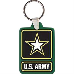 "Army Logo Key Tag, 1.8"" W X 2.63"" H"