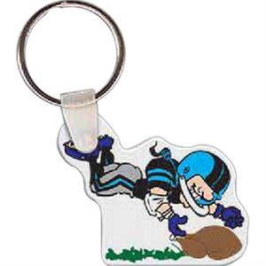 "Turkey Bowl Key Tag, 1.82"" W X 1.55"" H"