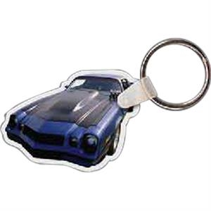 "Car Shaped Key Tag, 2.1"" W X 1.55"" H"