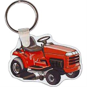 "Riding Mower Shaped Key Tag, 2.02"" W X 1.7"" H"