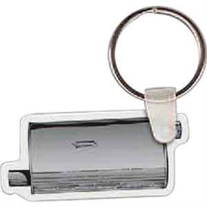 "Muffler Shaped Key Tag, 2.1"" W X 1.62"" H"