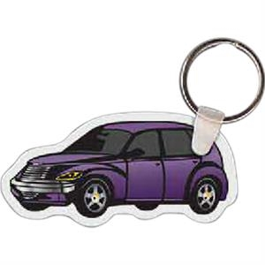 "Car Shaped Key Tag, 2.96"" W X 1.44"" H"