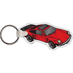 "2.87"" X 1.5"" - Car Shaped Key Tag"