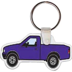 "Truck Shaped Key Tag, 2.5"" W X 1.27"" H"