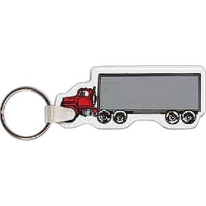 "3"" X 1"" - Truck Shaped Key Tag"