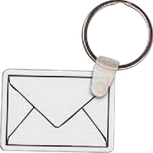 "Envelope Shaped Key Tag, 1.97"" W X 1.75"" H"