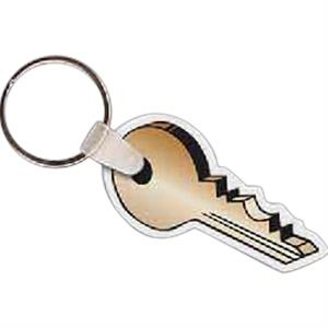 "2.12"" X 1.5"" - Key Shaped Key Tag"