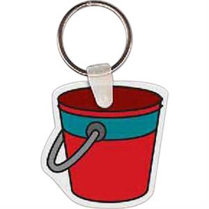 "Pail Shape Key Tag, 1.8"" X 1.79"""