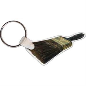 "Paint Brush Shape Key Tag, 2.34"" X 1.29"""