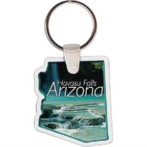 "Arizona Shape Key Tag, 1.60"" X 1.84"""