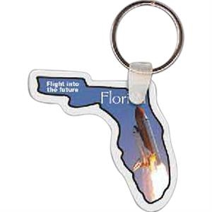 "Florida Shape Key Tag, 2.14"" X 2.04"""