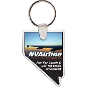 "Nevada Shape Key Tag, 1.56"" X 2.14"""