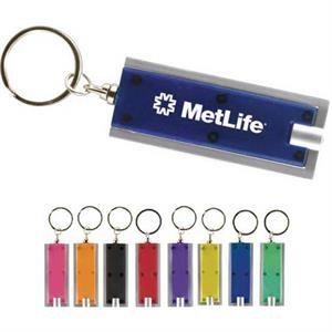 Rectangular Flat Keychain LED light
