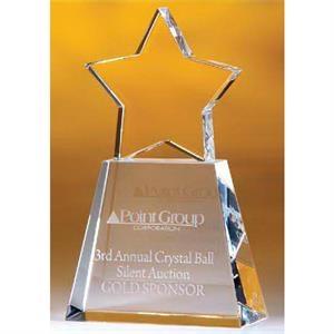"Conneaut Star Trapezoidal Award 8\"""