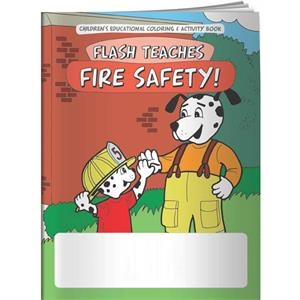 Coloring Book - Flash Teaches Fire Safety!
