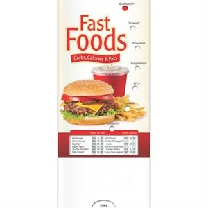 Pocketslider (tm) - English Pocket Slider (tm)-fast Food - Pocket Slider - Calculating Carbs, Fat, And Calories
