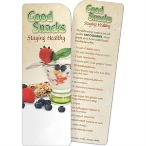 Bookmark - Good Snacks: Staying Healthy